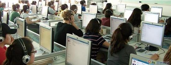(奥鹏远程教育中心承接组织的HSK考试正在进行中).jpg